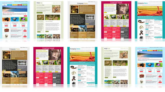 Download Free Email Templates Email Newsletter Templates Collection - Email brochure template